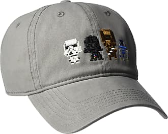 new style 01d2f cbbf7 Star Wars Mens Stormtrooper Embroidery Dad Baseball Cap, Black, One Size -  Grey