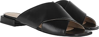 Furla Loafers & Slippers - Cross Mule Sandals Nero - black - Loafers & Slippers for ladies