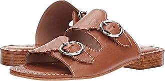 fccaa8a5b5f Bernardo Womens TOBI Flat Sandal Luggage Glove Leather 7M M US