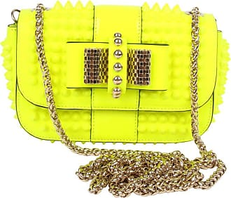 4d1ddb5ea0a 1stdibs Louboutin Sweet Charity Cross Body Bag - Neon Yellow