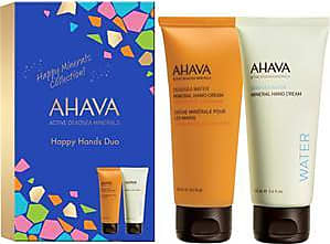 Ahava Deadsea Water Happy Hands Duo Mineral Hand Cream 100 ml + Mineral Hand Cream Mandarin & Cedarwood 1 Stk