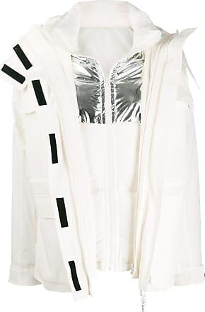 Yves Salomon - Army Blazer a doppio strato - Di colore bianco