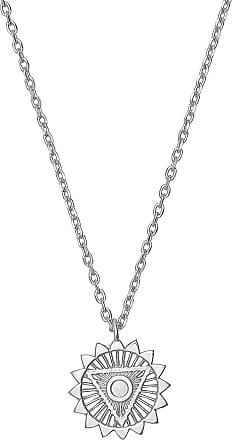 Zoe & Morgan Fünfte Chakra-Silberkette - Silver