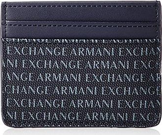 182ecc8071 Armani Credit Card Holder - Portafogli Uomo, Blu (Navy), 8x0.4x10