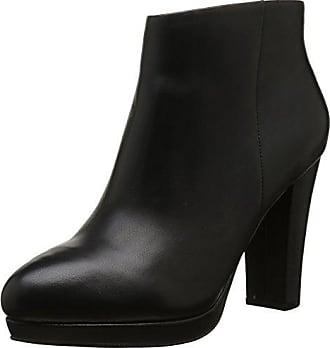 Buffalo Damen 410 10645 L Silk Leather Kurzschaft Stiefel