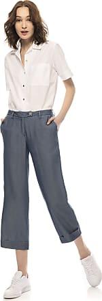 Re-hash Pantalone crop a gamba ampia