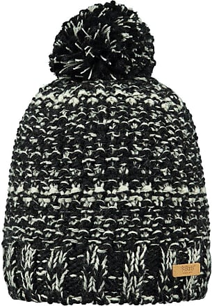 Barts Womens Cap Tempo Beanie Adults with Pompon One Size - Black