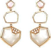 Emphasis Harmony18K Red Gold Mother of Pearl Earrings