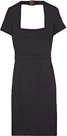 20883de1ad2 Gucci Gucci Woman Open-back Ponte Mini Dress Midnight Blue Size XL
