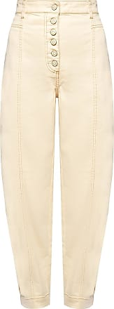 Ulla Johnson Brodie Trousers With Buttons Womens Beige