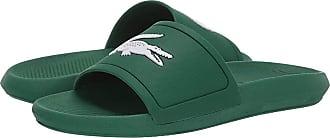 4abbc15b7 Lacoste Croco Slide 119 1 (Green White) Mens Shoes