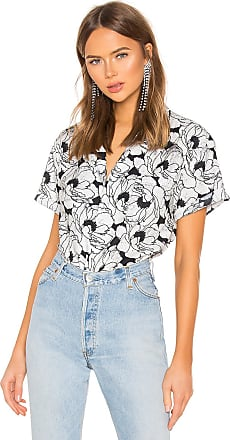Double Rainbouu Hawaiian Shirt in Black & White