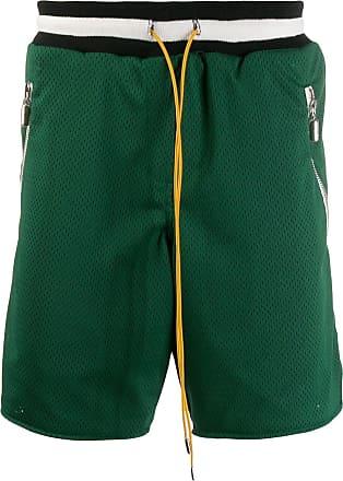 Rhude Short de mesh - Verde