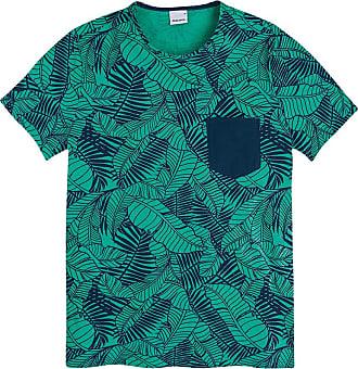 Malwee Camiseta Slim,Malwee, Masculino, Verde, GG