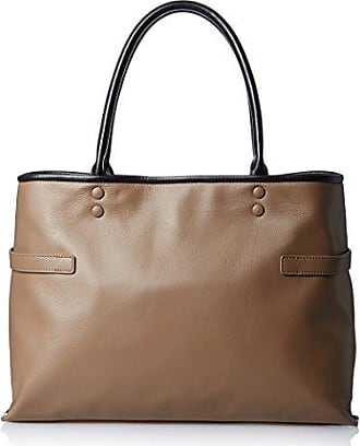 Belle & Bloom Womens Diana Leather Tote, Taupe