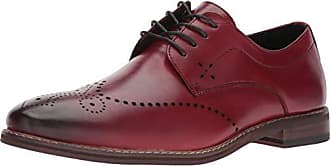 Stacy Adams Mens Alaire Wingtip Lace-Up Oxford, Cranberry, 11 M US
