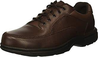 Rockport Mens Eureka Walking Shoe, Brown, 8.5 2E US