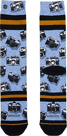 Xpooos xpoos Mens Socks Multicolour - Cameras, 39/42