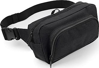 BagBase Organiser Belt / Waistpack Bag (2.5 Litres) (One Size) (Black)
