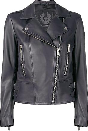 Belstaff Marvingt Leather Jacket - Azul