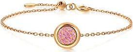 Emphasis Timeless18K Red Gold Pink Sapphire Bracelet