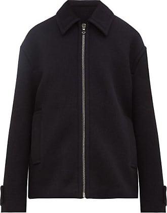 Raey Harrington Wool Jacket - Mens - Navy