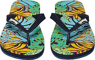 Vilebrequin Men Flip Flops Jungle - Night Blue - 40/41