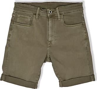G-Star 3301 Slim Denim Shorts Dark Lever - 30