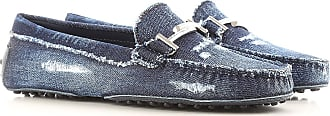 Tod's Mocassini Uomo On Sale, Denim, Denim, 2019, 35 35.5 36 36.5 37 37.5 38 38.5 39 39.5 40