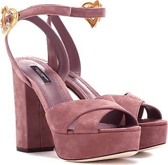 Dolce & Gabbana Exclusive to Mytheresa - Suede plateau sandals
