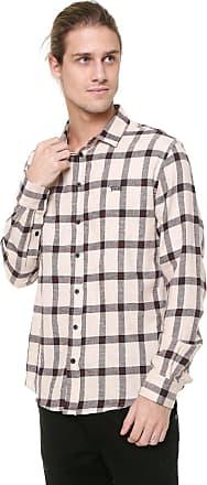 Triton Camisa Triton Xadrez Vintage Culture Bege