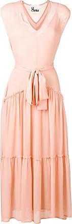 8pm tie waist dress - Pink