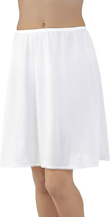 Vanity Fair Womens Daywear Solutions Half Slip 11711, Star White, XXL (32 Length)