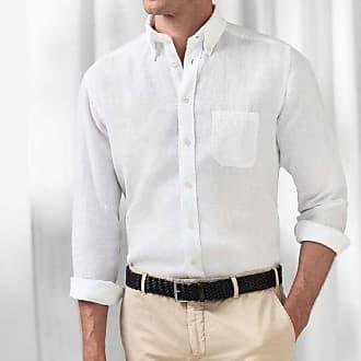 Linnen Overhemd Wit Heren.Voor Mannen Shop Linnen Overhemden Van 125 Merken Stylight