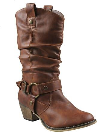 Refresh womens Wild-02 Wild-02 Brown Size: 7 UK