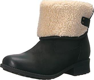 UGG Womens Aldon Winter Boot, Black, 6 M US