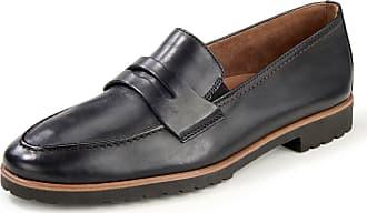 Paul Green Calf nappa leather loafers Paul Green black