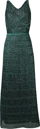 M Missoni Vestido longo metalizado - Verde