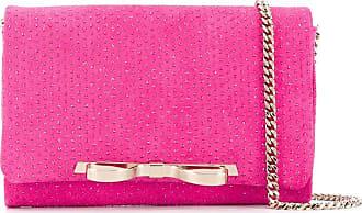 Red Valentino Bolsa tiracolo Sandie com aplicação de strass - Rosa