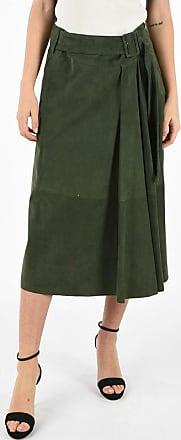 Drome Suede Leather Skirt Größe S