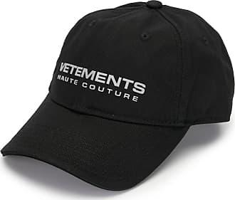 VETEMENTS Boné com logo bordado - Preto