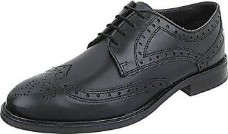 Ital-Design Budapester Stil Leder Herren-Schuhe Oxford Blockabsatz Schnürer  Schnürsenkel Ital-Design a1e18435c9