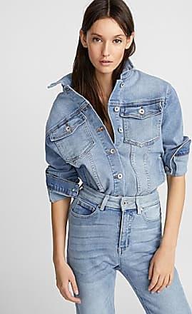 Icone Faded blue jean jacket