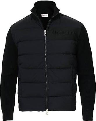 Moncler Hybrid Full Zip Black
