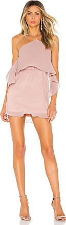 Superdown Caty Tiered Mini Dress in Pink