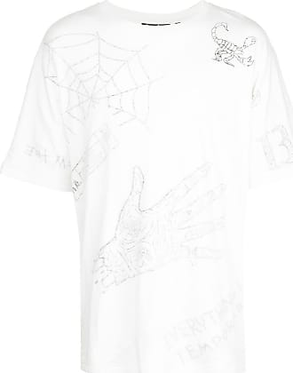 Haculla Mixed Mania Oversized-T-Shirt - Weiß