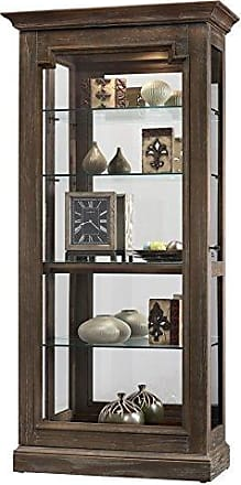 Howard Miller Caden II Solid Wood Display Cabinet Made in USA