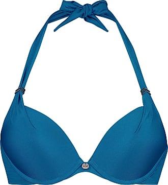 Hunkemöller Sunset Dream Padded Push-Up Bikini Top Cup A - E Blue 32B