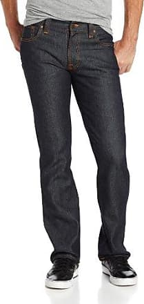 Nudie Jeans Mens Thin Finn Jean In Dry Tight Broken