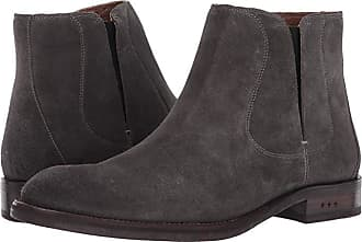 John Varvatos Waverly Chelsea (Coal) Mens Pull-on Boots